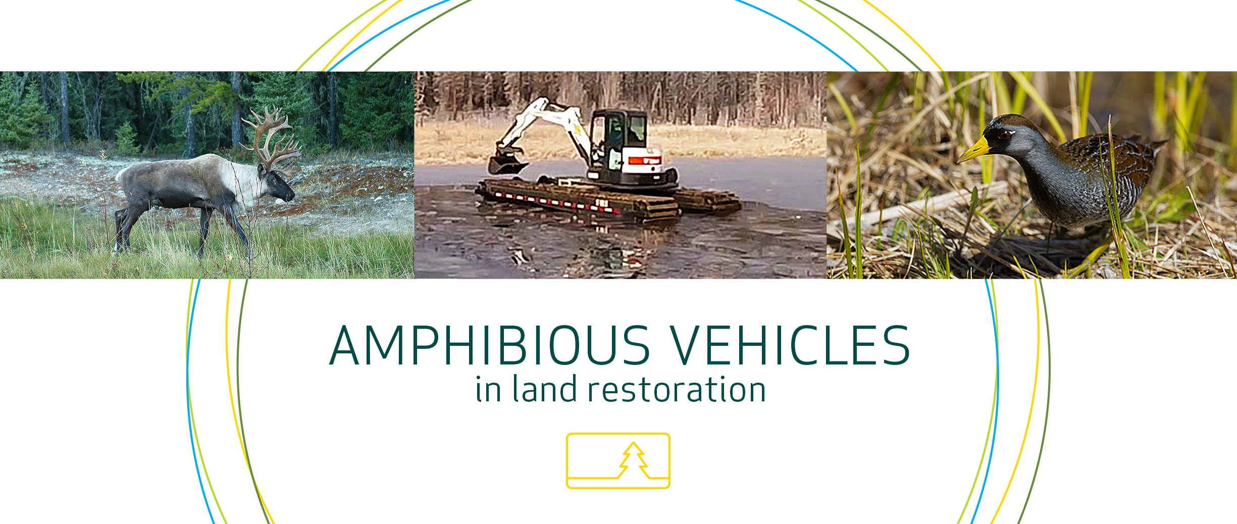 amphibious oil sands vehicle