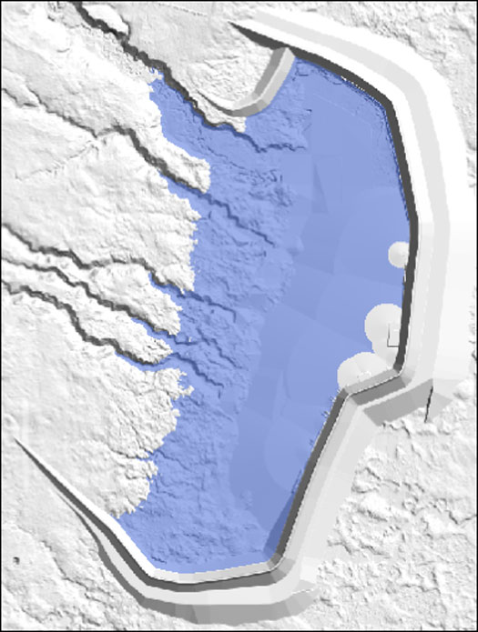 Tailings Pond Footprint Right